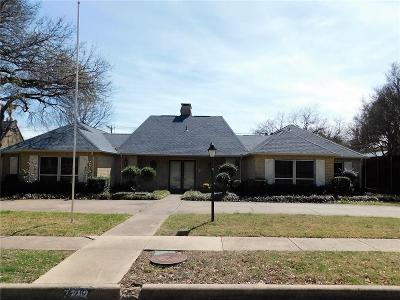 Dallas, Fort Worth Single Family Home For Sale: 7212 Briarmeadow Drive