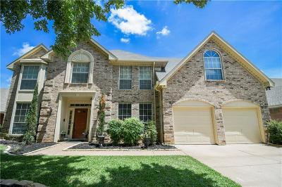 Grapevine Single Family Home For Sale: 4229 Rustic Drive