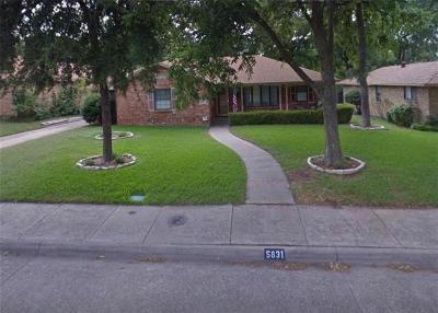 Dallas Single Family Home For Sale: 5831 Clendenin Avenue