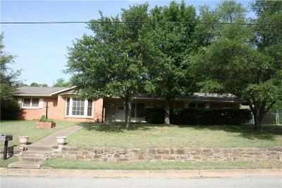 Mineral Wells Single Family Home Active Option Contract: 1501 NW 4th Avenue