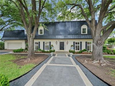Fort Worth TX Single Family Home For Sale: $799,000
