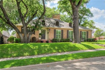 Dallas Single Family Home For Sale: 9031 Aldwick Drive