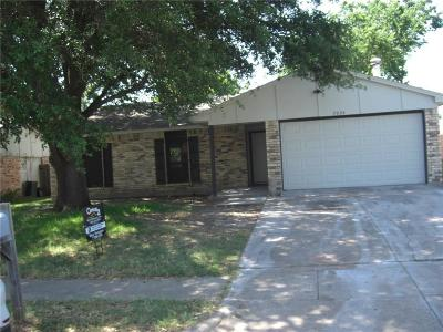 North Richland Hills Single Family Home Active Option Contract: 7224 Chatham Road