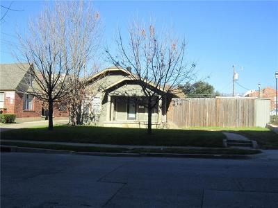 Dallas Single Family Home Active Option Contract: 4342 Congress Avenue