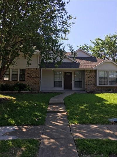 Single Family Home For Sale: 502 Country View Lane