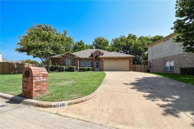 Mansfield Single Family Home For Sale: 1518 Cheyenne Trail