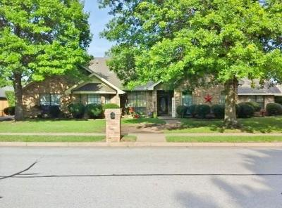 Bedford Single Family Home Active Option Contract: 3804 Hillwood Way