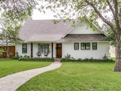 Dallas Single Family Home For Sale: 9310 Crestedge Drive