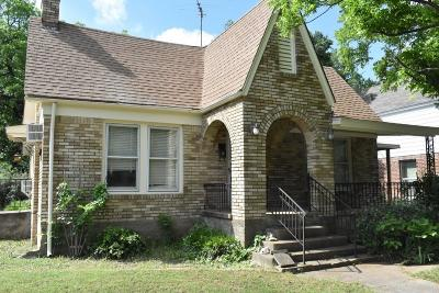 Dallas Single Family Home For Sale: 1218 Elmwood Boulevard