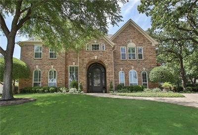 Keller Single Family Home For Sale: 1602 Branchview Court