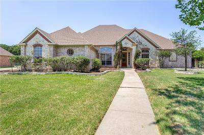 Kennedale Single Family Home Active Option Contract: 811 Shady Bend Drive