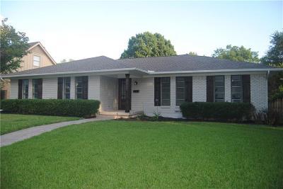 Dallas Single Family Home For Sale: 9840 Vistadale Drive