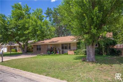 Brownwood Single Family Home For Sale: 2310 13th Street