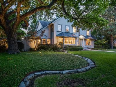 Highland Park Single Family Home For Sale: 3617 Euclid Avenue