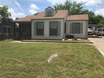 Dallas Single Family Home For Sale: 1560 Vermont Avenue