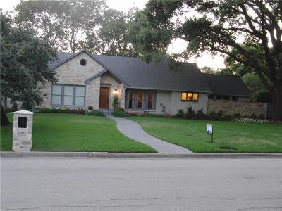 Dallas Single Family Home For Sale: 13923 Carillon Drive