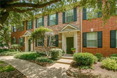Richardson Townhouse For Sale: 4116 Kyndra Circle