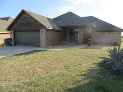 Abilene Single Family Home For Sale: 7818 Tuscany Drive