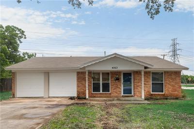 Haltom City Single Family Home For Sale: 4953 Tracy Drive