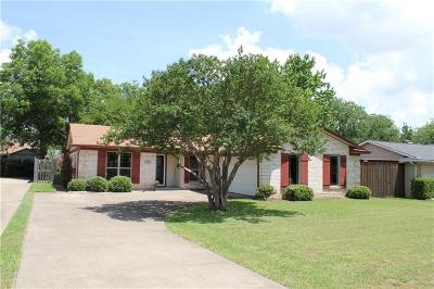 Richardson Single Family Home For Sale: 1224 Cypress Drive