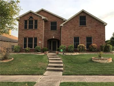 Mesquite Single Family Home For Sale: 4601 Monarch Drive