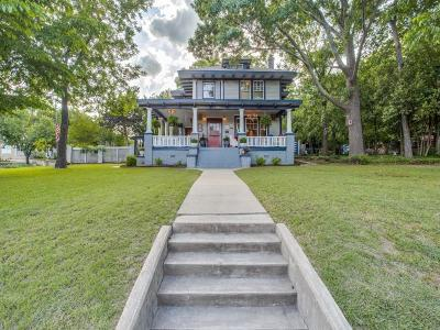 McKinney Single Family Home For Sale: 201 N College Street