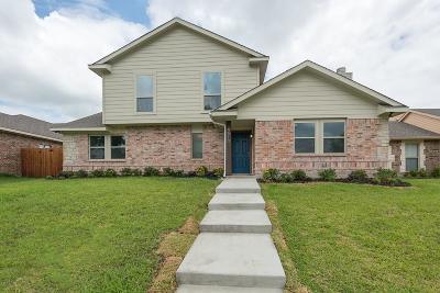 Rowlett Single Family Home For Sale: 4510 Mariner Drive