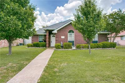 Seagoville Single Family Home Active Option Contract: 1234 Brittany Way