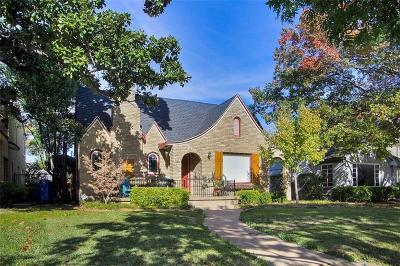 Dallas, Fort Worth Single Family Home For Sale: 6031 Mercedes Avenue
