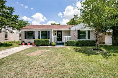 Dallas Single Family Home For Sale: 10518 Desdemona Drive