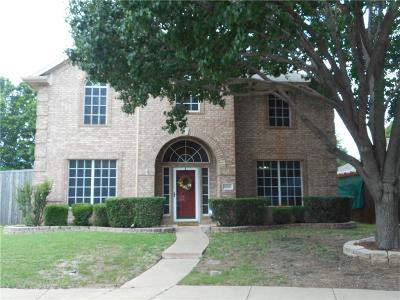 Lewisville Single Family Home For Sale: 1600 Nightingale Drive