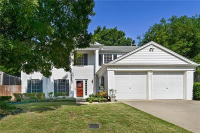 Flower Mound Single Family Home Active Option Contract: 1623 Spring Meadow Lane
