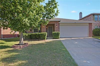 Fort Worth TX Single Family Home For Sale: $211,000