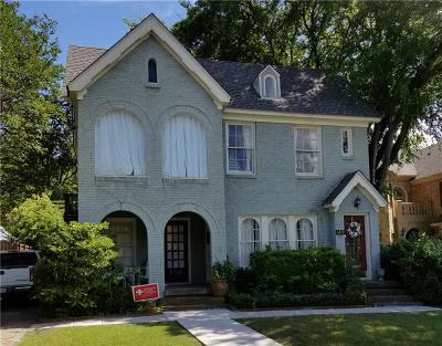 Multi Family Home Active Option Contract: 6240 Palo Pinto Avenue