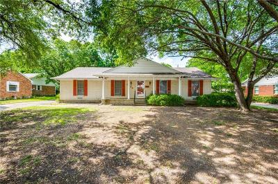 Carrollton Single Family Home For Sale: 1834 Walnut Avenue