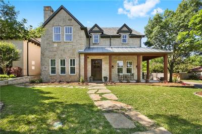 Dallas TX Single Family Home For Sale: $1,450,000