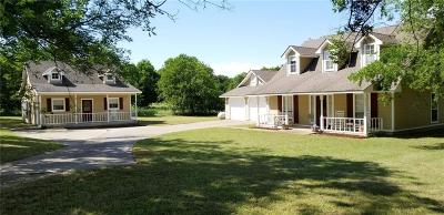 Waxahachie Single Family Home Active Option Contract: 1170 Pecan