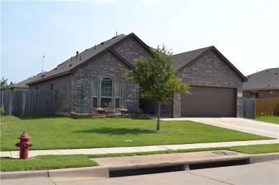 Azle Single Family Home For Sale: 1201 Glenwood Drive
