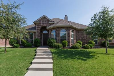 Rockwall Single Family Home Active Option Contract: 1408 White Water Lane