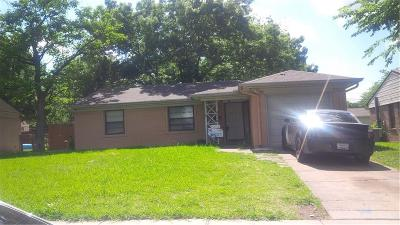 Mesquite Single Family Home For Sale: 4319 N Hyde Park Drive NE