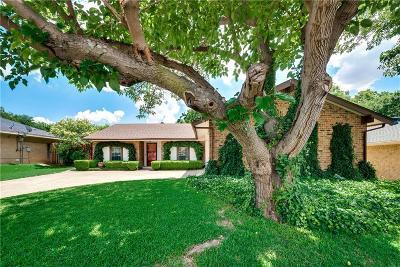 Carrollton Single Family Home For Sale: 2120 Benbrook Drive