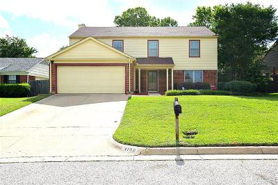 Single Family Home For Sale: 4109 Orchard Hill Drive