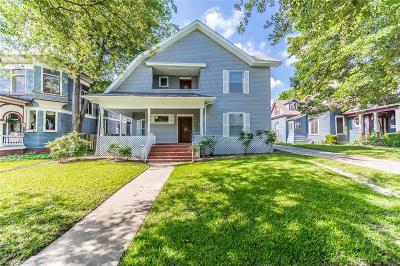 Denison Single Family Home For Sale: 1106 W Sears Street