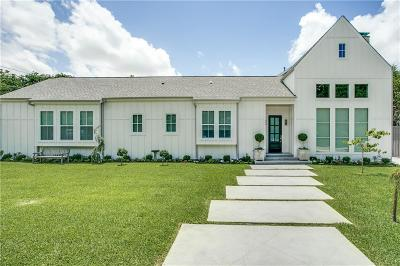Dallas Single Family Home For Sale: 4064 Rochelle Drive