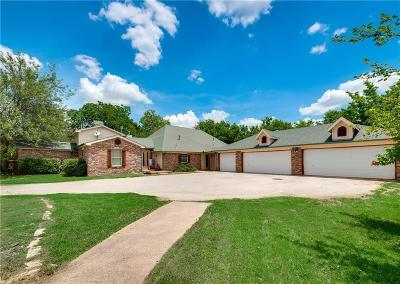 Single Family Home For Sale: 4124 Keller Hicks Road