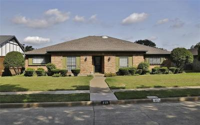 Richardson Single Family Home For Sale: 617 Birch Lane