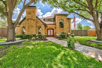 Plano Single Family Home Active Option Contract: 2700 Ithaca Court