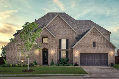 Prosper Single Family Home For Sale: 1611 Chisholm Trail