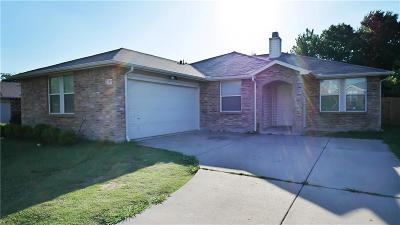 Mesquite Single Family Home For Sale: 2749 Cameron Way