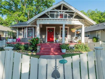 Fort Worth Single Family Home For Sale: 1920 Hurley Avenue